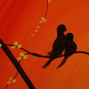 Love Bird Paintings