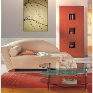 Modern Gold Chinese Painting Original Cherry Blossom Art Zen Asian Style Simple Japanese Floral Custom 24x36