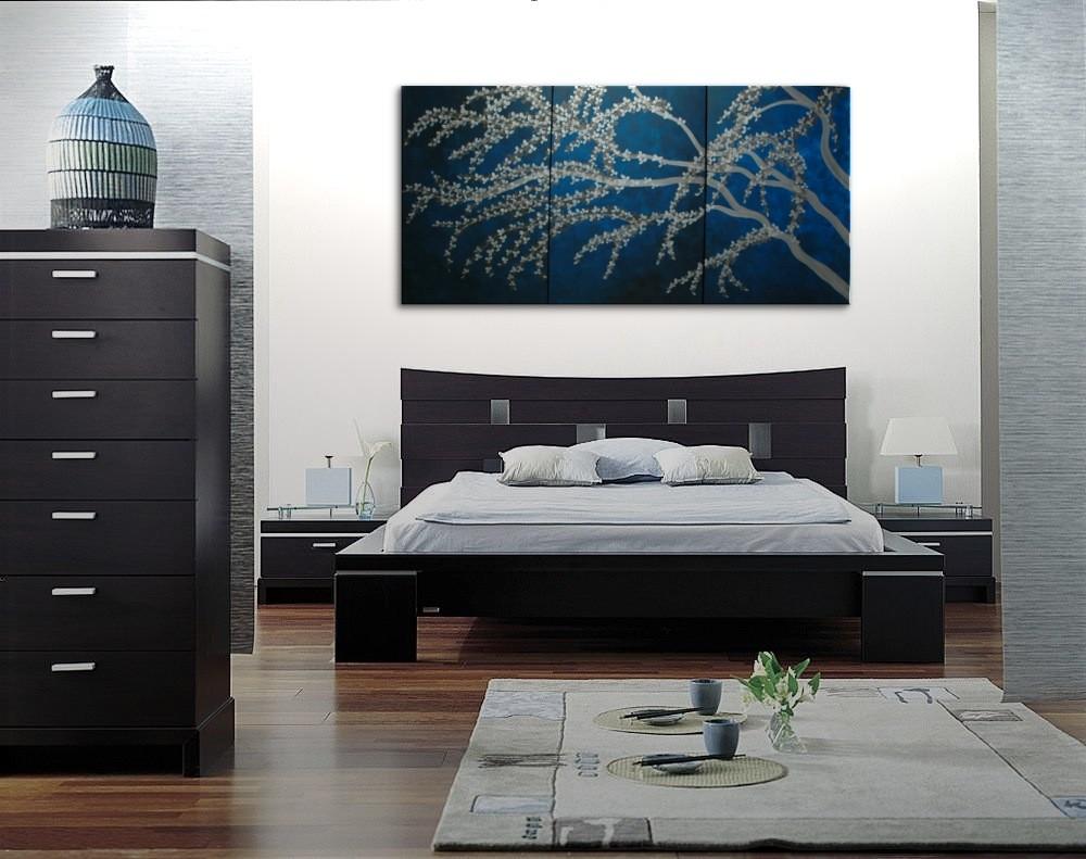 Asian art for the bedroom