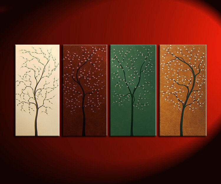 Tree Painting Acrylic Wall Art