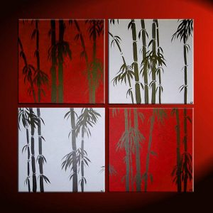 Asian Bamboo Paintings