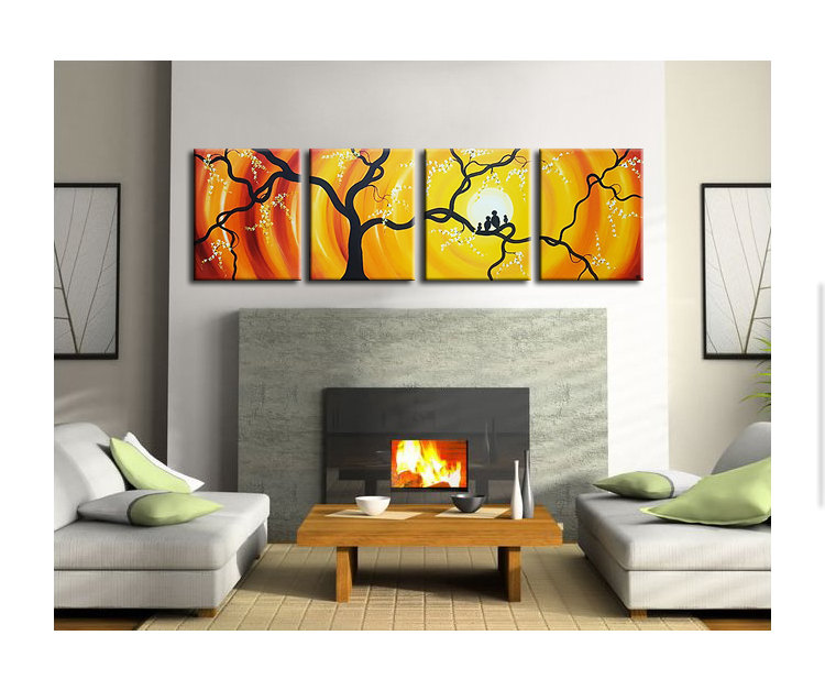 Love bird paintings archives page 2 of 5 art by for Neon yellow wall paint